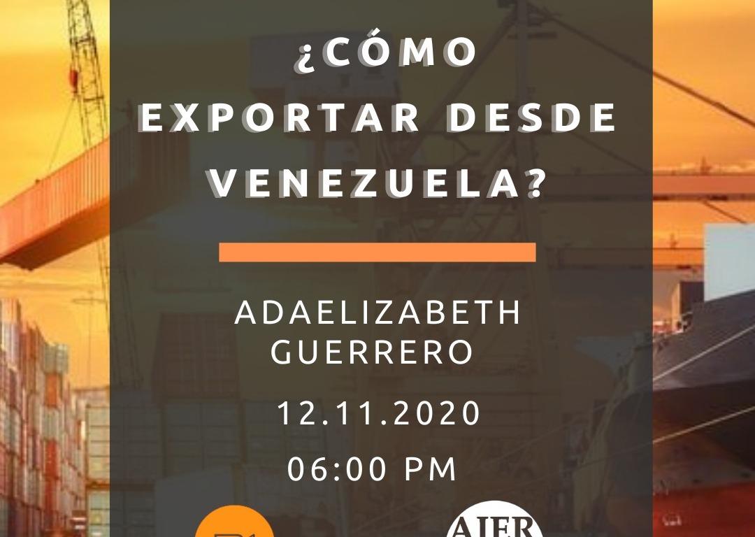 cómo exportar desde venezuela